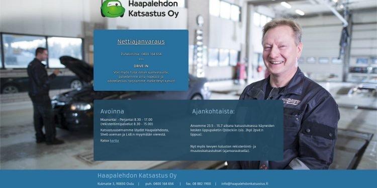 Haapalehdon Katsastus Oy